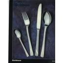 21.Nož na maslo - pieskovaný, zlátený