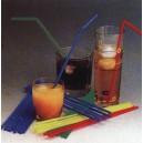 Slamky flexibilné farebné mix 21cm priemer 5mm
