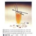 Slámky rovné XXL 100x6,5 cm  100 ks