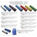 Vrecia na odpadky modré 70 x 11 cm,120l, 15ks