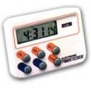 Digitálný časovač s hodinami