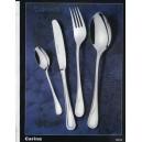 34.Nož stolový - zlátený